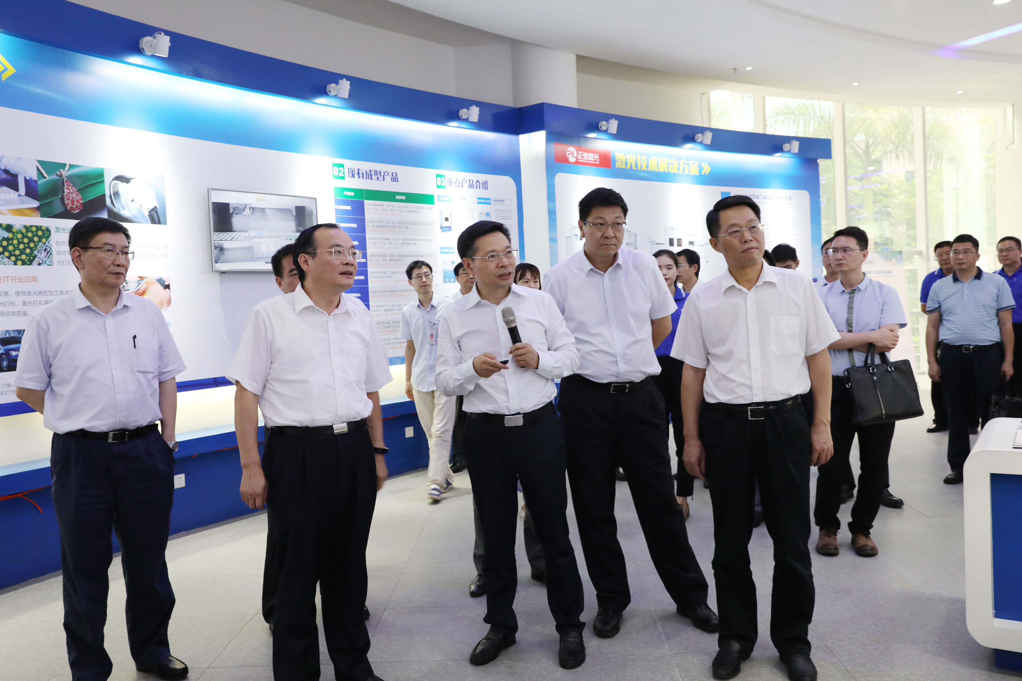 Chairman introduced precision inspection equipment series